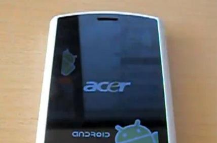 Acer Liquid A1 unboxed, video style