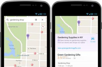 Google implements local business AdWords to Maps on Android and iOS