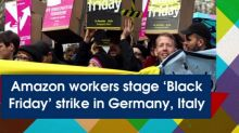 Amazon workers stage 'Black Friday' strike in Germany, Italy