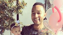 Luna Is Adorably Excited by Dad John Legend's TIME Magazine Cover