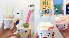 #POPSPOTS in Seoul:每個雪糕杯也配不一樣可愛的表情,讓人吃到好心情的韓國 Gelato!