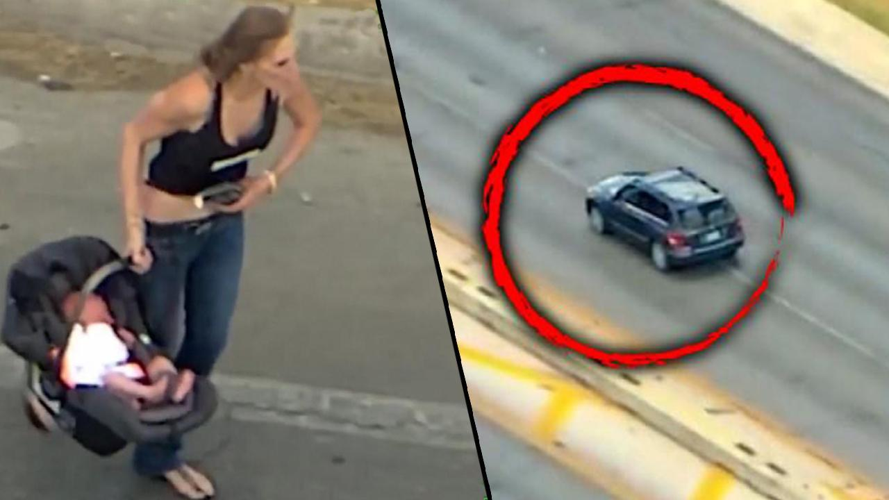 Woman With Baby in Car Leads Cops on High-Speed Chase Before Crashing: Cops