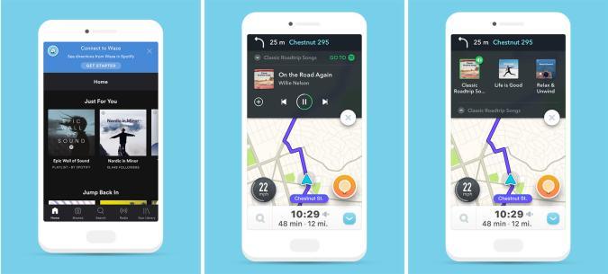 Waze/Spotify