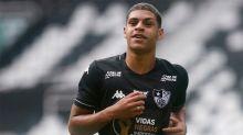 Com Covid-19, Luis Henrique se torna baixa do Botafogo em amistoso