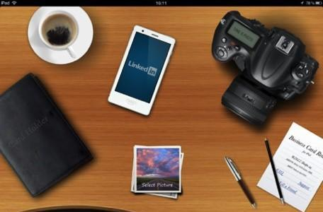 Daily iPad App: Business Card Reader HD lets you scan business cards on the go