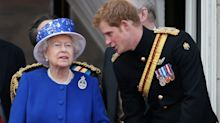 Will the Queen and Prince Harry meet when he is in the UK?