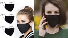 'Nice and light': This 4 pack of adjustable face masks are only $25 on Amazon