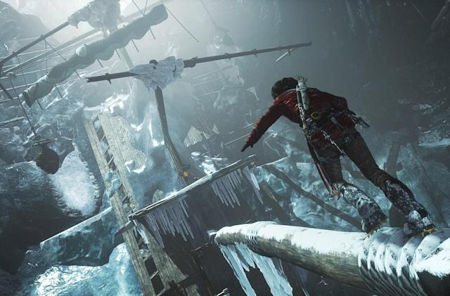 Stadia Pro's free January games are 'Rise of the Tomb Raider' and 'Thumper'