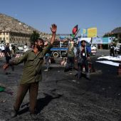 80 dead as IS claims twin blasts during Kabul protest