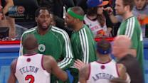 Scuffle at MSG