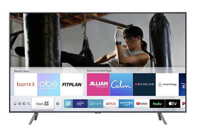 Samsung brings six fitness apps to its smart TVs