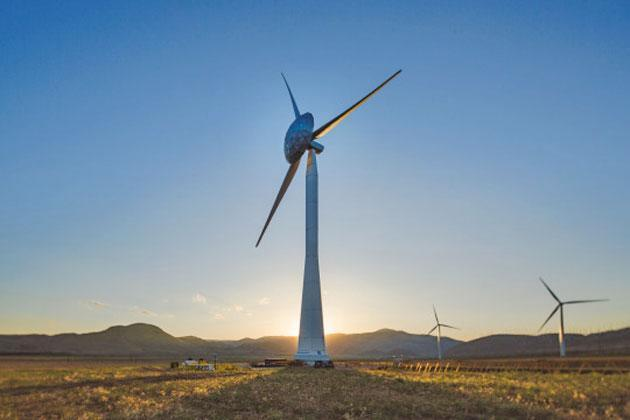 GE's big-nosed wind turbine generates more power