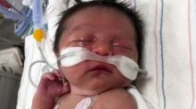 Hours-old baby abandoned in Maryland woods found by passerby, hospitalized in stable condition