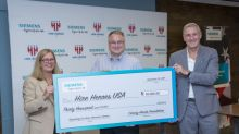 Siemens Donates $30,000 to Hire Heroes USA, Demonstrating Ongoing Support for US Military Members