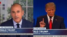 Matt Lauer Asks Donald Trump if He Has a Crush on Megyn Kelly