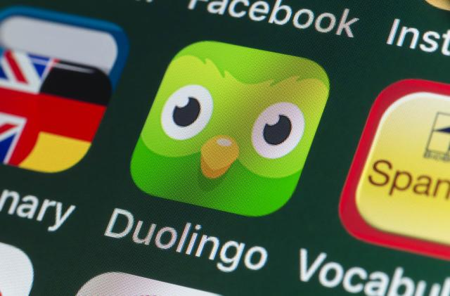 Now Duolingo teaches the world's five most common languages
