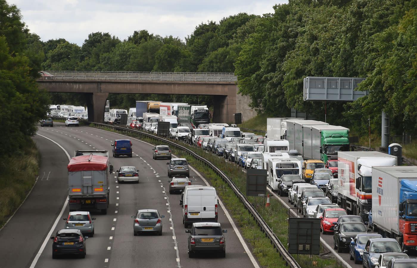 Police officer killed in car crash on M6 motorway near Carlisle