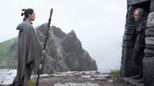 Rey heads to the first Jedi Temple in Star Wars: The Last Jedi