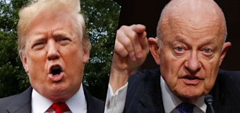 Ex-intel chief refutes Trump's FBI spying claims