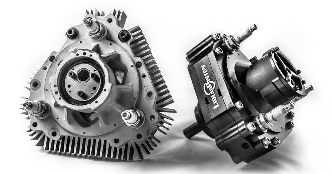 A LiquidPiston engine.