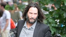 Keanu Reeves and Girlfriend Alexandra Grant Enjoy Dinner in Berlin with His 'Matrix 4' Costars