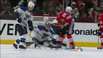 Shaw deflects Keith's shot past Miller