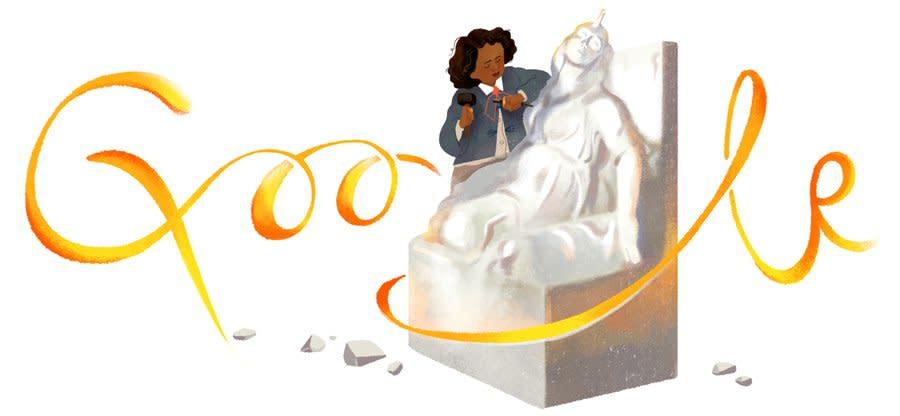 Google Celebrates Sculptor Edmonia Lewis with New Doodle