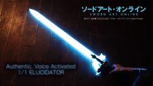 【有片】《Sword Art Online》出劍 六軸感應發光發聲