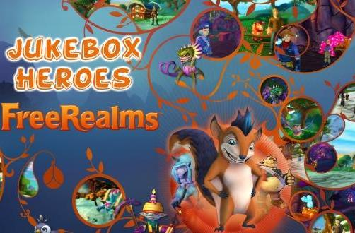 Jukebox Heroes: Free Realms' soundtrack