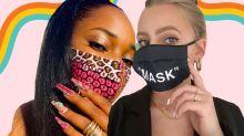 Deu match: máscara combinando com unha é a nova tendência da vez!