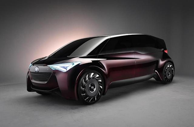Toyota applies long range fuel cell tech to its latest minivan concept