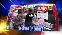 Holiday shopping: In store vs. Online
