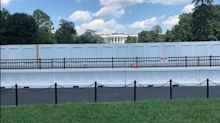 The White House is building a massive 'anti-climb' wall following protests. These photos show the evolution of White House fencing over the years