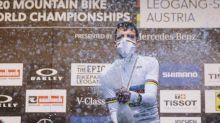 VTT - Mondiaux (H) - Jordan Sarrou, champion du monde de cross-country: «Je n'y crois pas»
