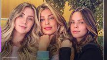 """Grazi Massafera publica foto com as sobrinhas e impressiona: """"Parecidas"""""""