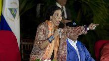 La vicepresidenta de Nicaragua arremete contra los  críticos de la cadena perpetua