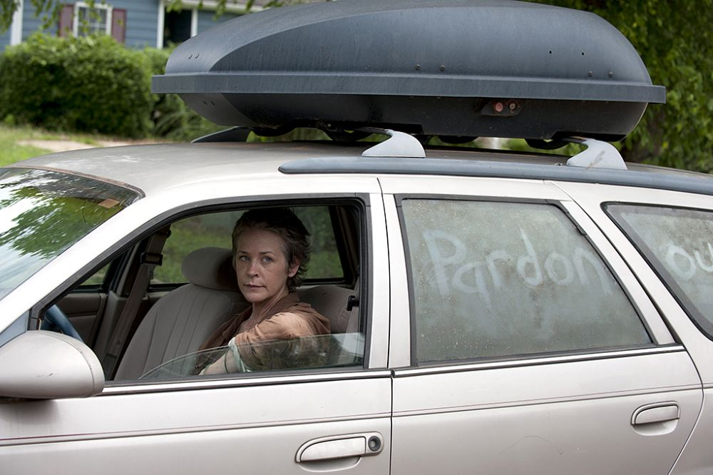 Melissa McBride as Carol in AMC's The Walking Dead.