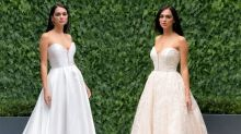 The world's first range of reversible wedding dresses has dropped