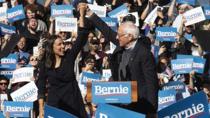 AOC open to stumping for Sanders during trial