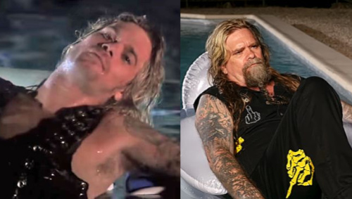 Chris Holmes, then and now