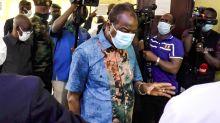 Guinée: le président Alpha Condé au chevet des victimes des violences post-électorales