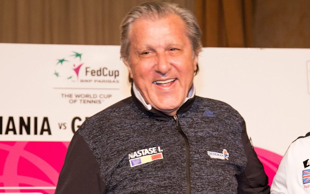 Ilie Nastase launched an outburst at a British journalist - Getty Images Sport