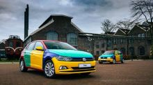 Volkswagen resurrects the multi-colored Polo Harlequin in Holland