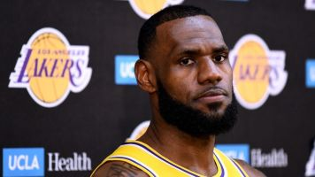 LeBron James has a nickname for Lakers' notorious bench crew: 'MUD'
