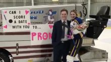 Zamboni involved in one of this year's most Canadian promposals