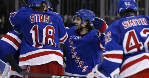 Hockey - NHL - Les Rangers, Edmonton et St Louis qualifiés pour le deuxième tour des play-offs