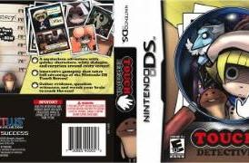 Touch Detective's sinister boxart