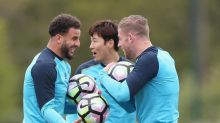 Tottenham vs Arsenal: Spurs all smiles in training before north London derby