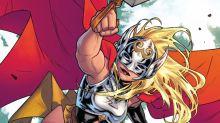 Antes do cinema, Thor mulher apareceu nos quadrinhos. Entenda