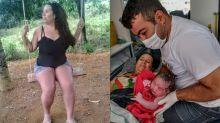 Mulher dá à luz na sala de casa sem saber que estava grávida
